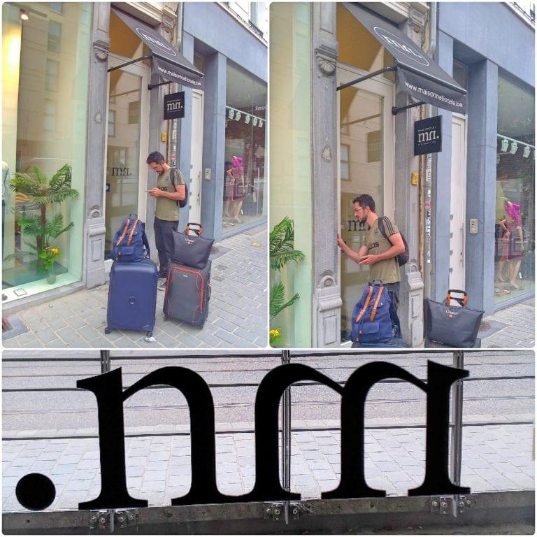 Maison Nationale City Flats & Suites - chegada já com o código de acesso em mãos