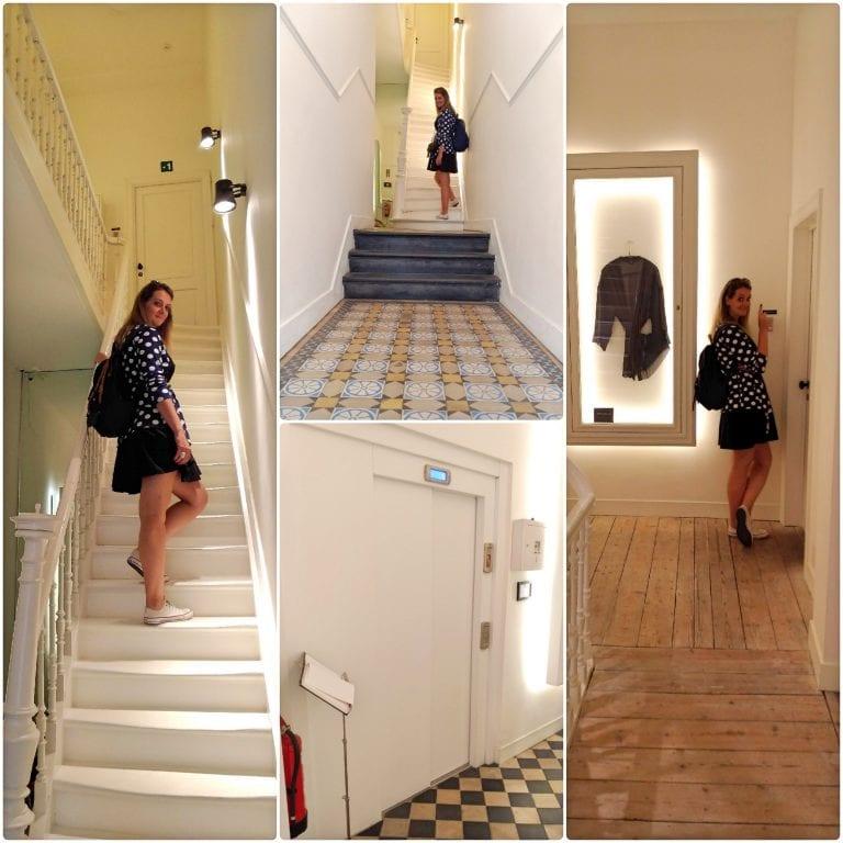 Maison Nationale City Flats & Suites - corredores e elevador