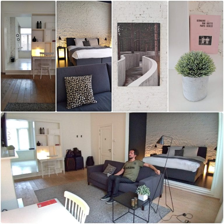Maison Nationale City Flats & Suites - sala super bem decorada e aconchegante