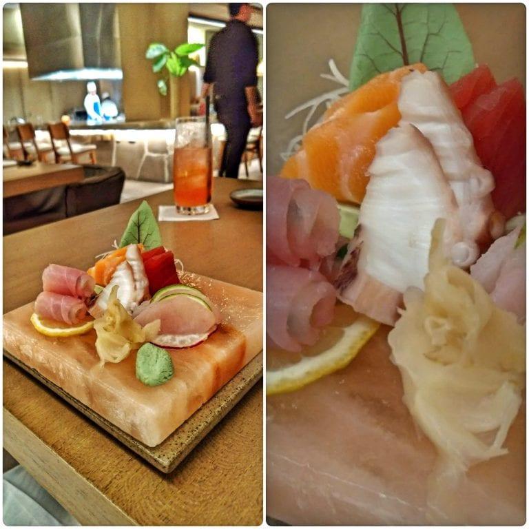 Shiso - 2° tempo - sashimi