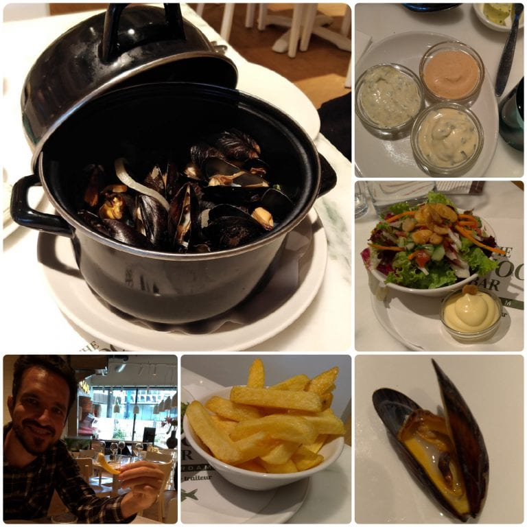 The Seafood Bar Utrecht - moules french e frites