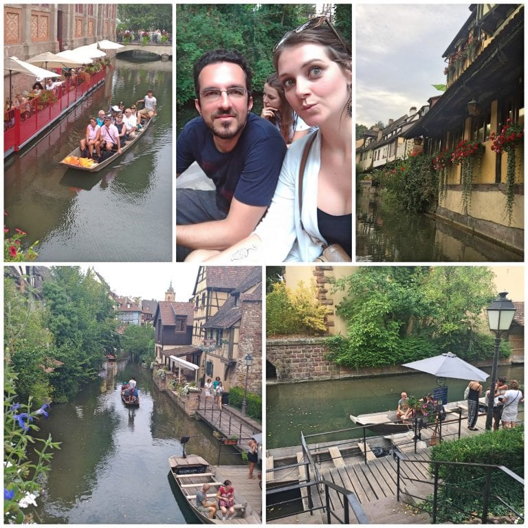 Passeio de barco pela Pequena Veneza