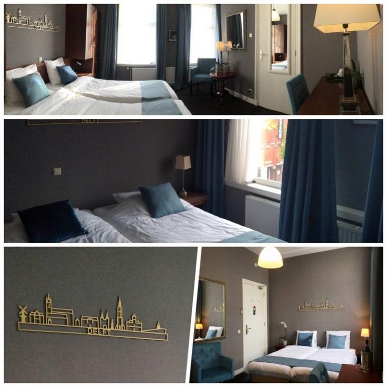 Nosso quarto no Hotel Johannes Vermeer Delft