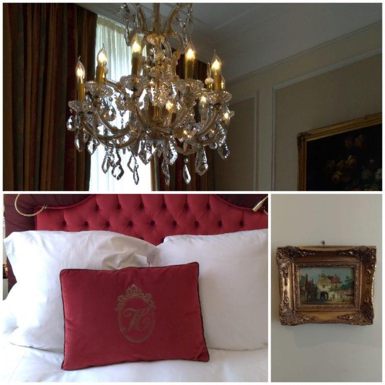 Detalhes da decoração do quarto