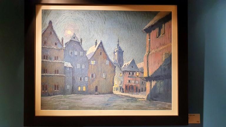 Visitando o Musée Hansi em Colmar