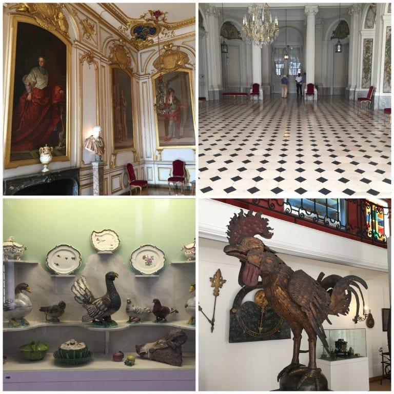 Por dentro do museu de artes decorativas, um dos 3 museus do Palácio Rohan