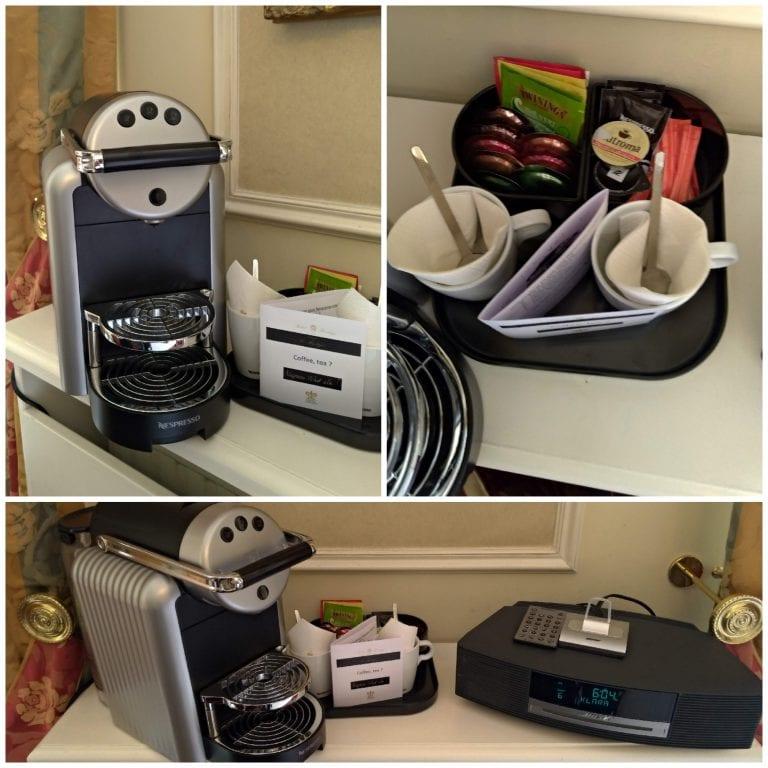 Nespresso e caixas de som