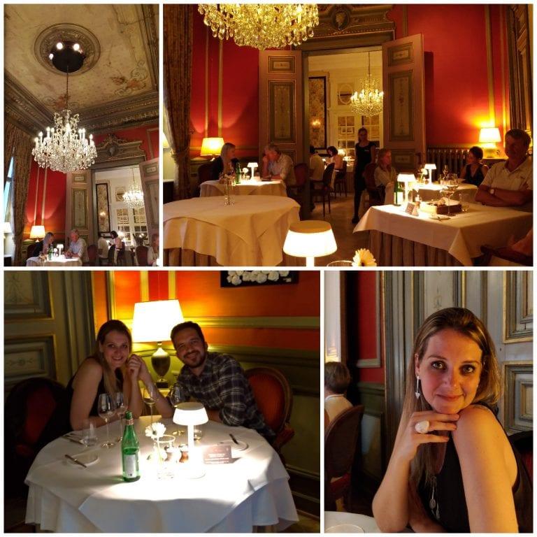 Jantar especial no Le Mystique, restaurante do hotel Heritage