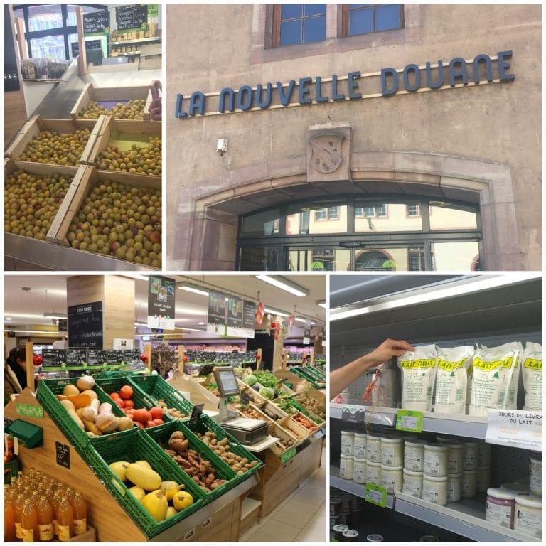 Nouvelle Douane: mercado de produtores locais
