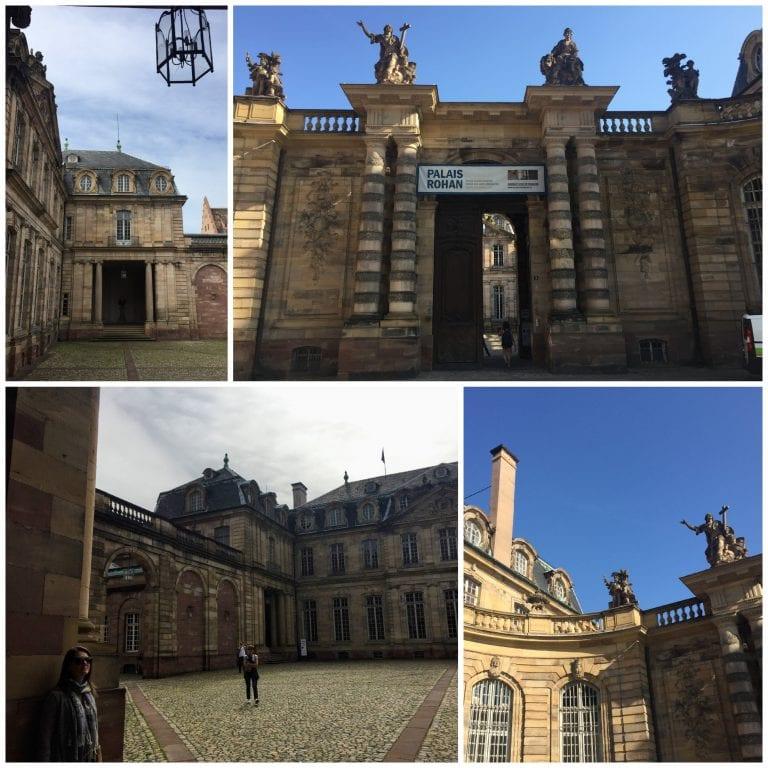 Palacio Rohan - ao lado da Catedral de Estrasburgo, concentra 3 museus abertos a visitação