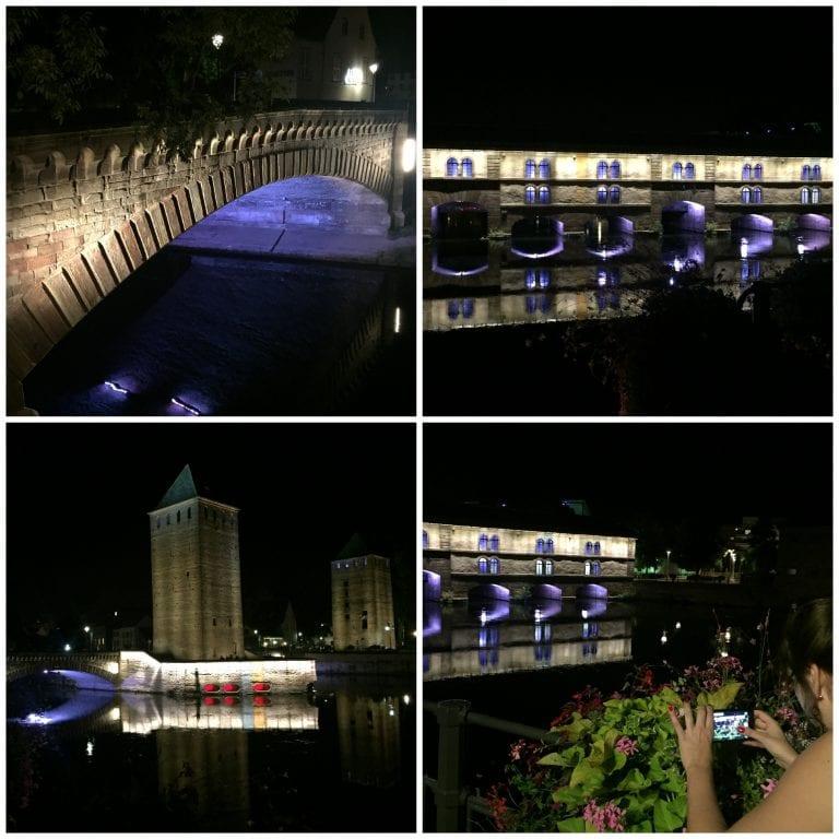 Petit France à noite