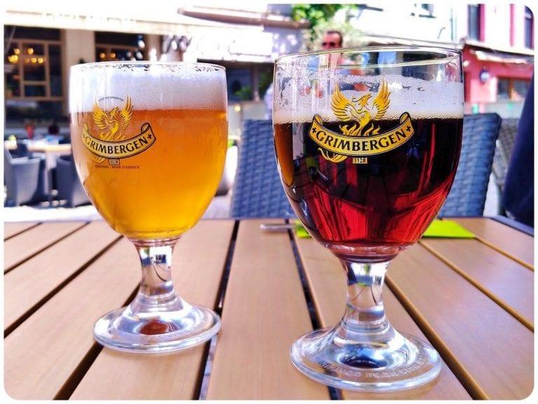 Grand Café Lord Nelson - cervejas