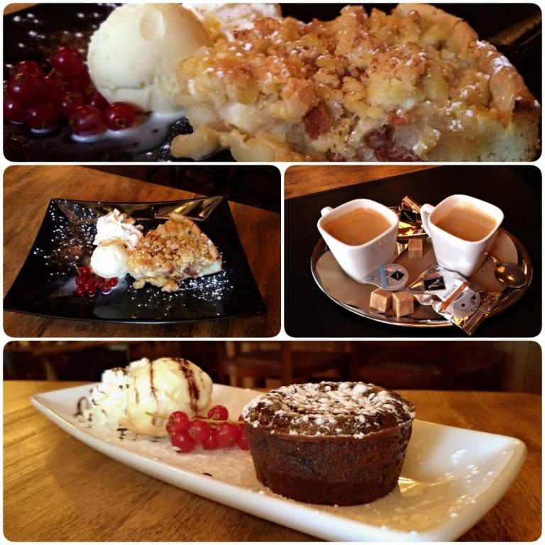 Grand Café Lord Nelson - sobremesas e café