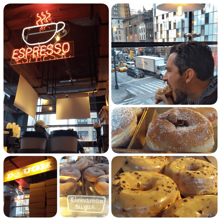 Row NYC - Dough para se deliciar com café e donuts no City Kitchens