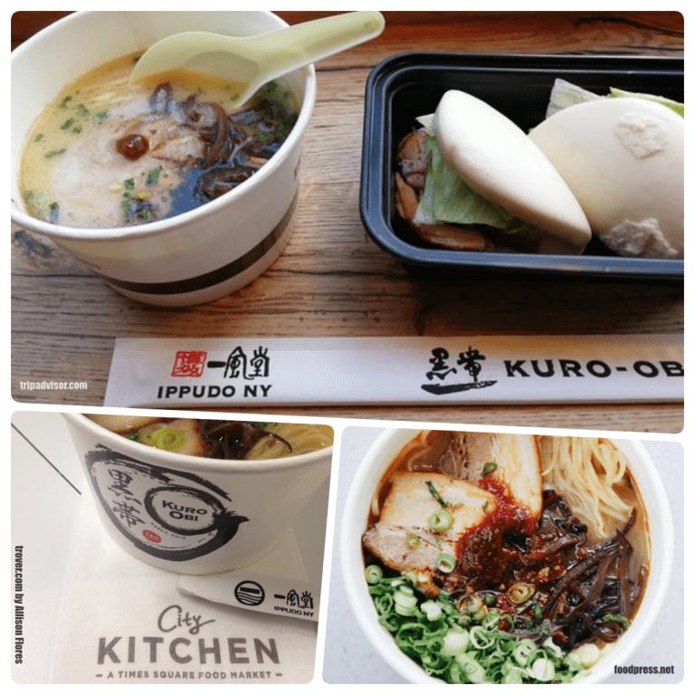 Row NYC - Kuro-Obi também é japa e serve os Ramens maravilhosos do City Kitchens