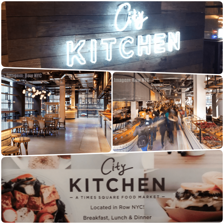 Row NYC - ambiente do City Kitchens