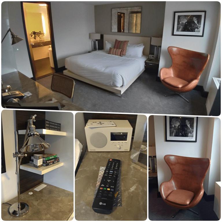 Row NYC - quarto com cama enorme e confortável
