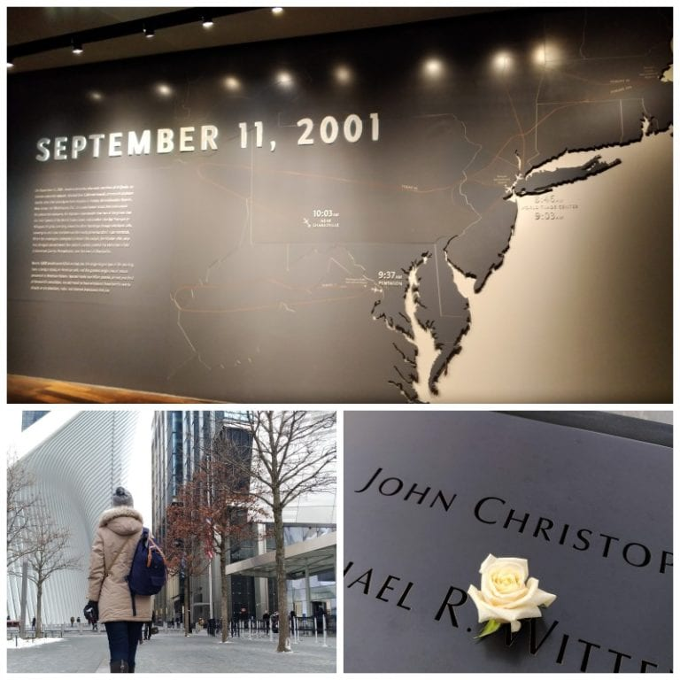 Visita ao Memorial do 11 de Setembro (9/11)