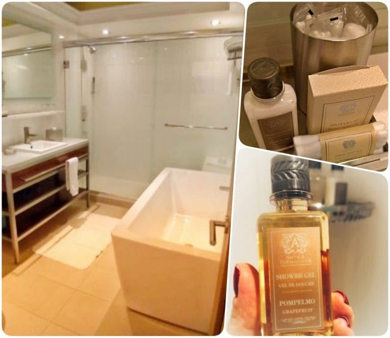 Inn at the Market: banheiro confortável com amenities ótimos