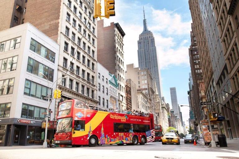 Ônibus turístico da City SightSeeing em New York  Foto: site oficial