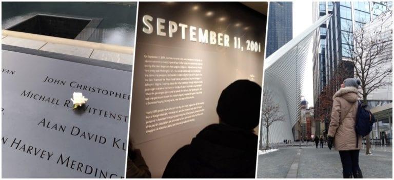 Visita ao Memorial e ao Museu do 11 de Setembro