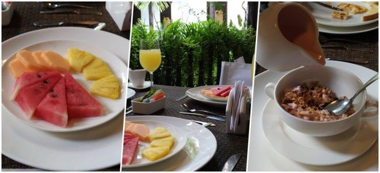 Café da manhã do Centro Hotel