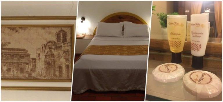 Quarto no Centro Hotel Cartagena