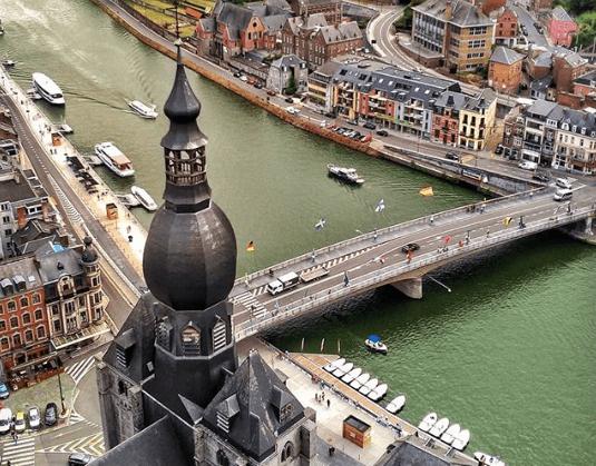 O que fazer em Dinant e Namur, na Bélgica