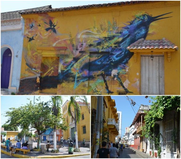 Ruas e grafites de Getsemaní
