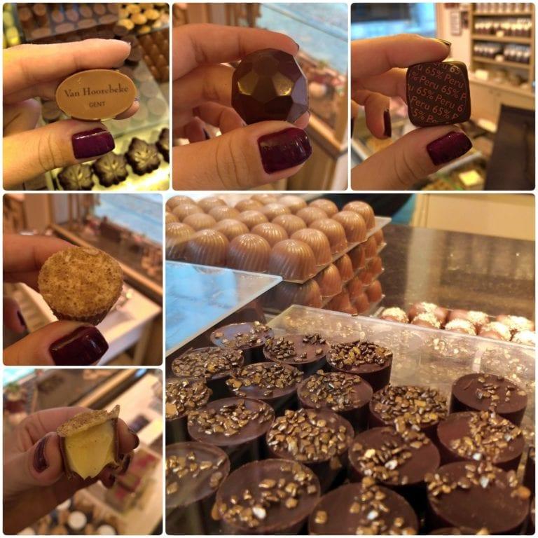 Chocolateria em Gent: Van Hoorebeke | Chocolates deliciosos