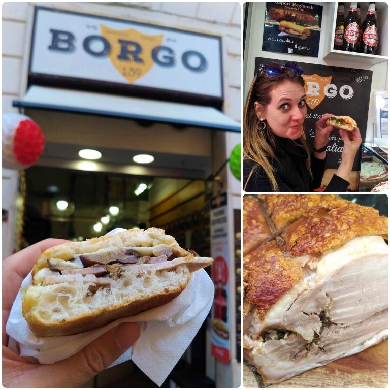 onde comer panini em roma