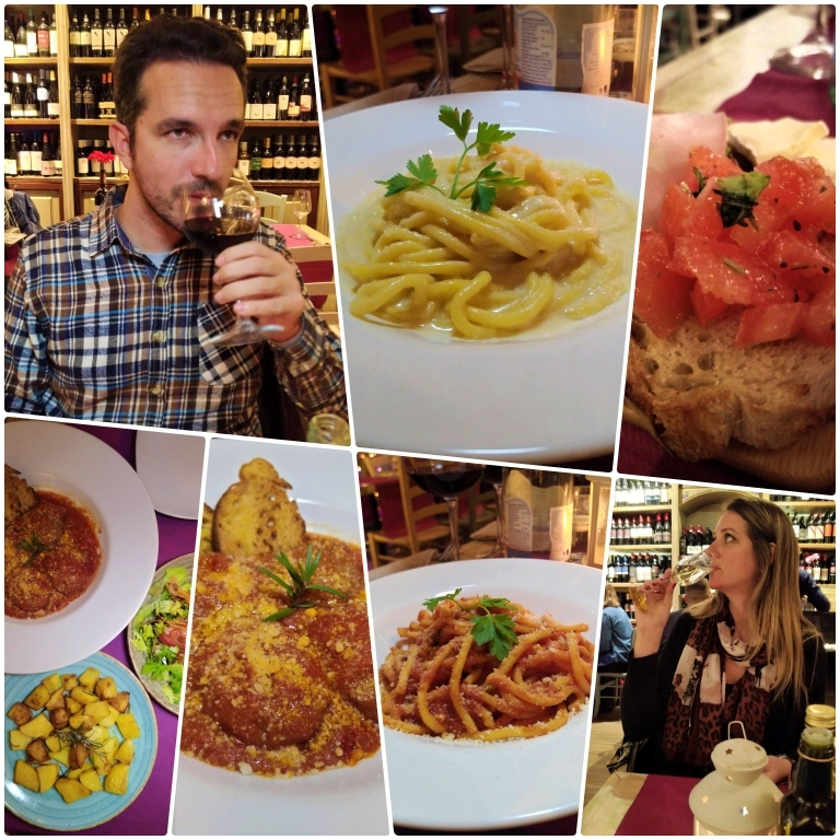 Onde comer em Roma: Enoteca Trastevere