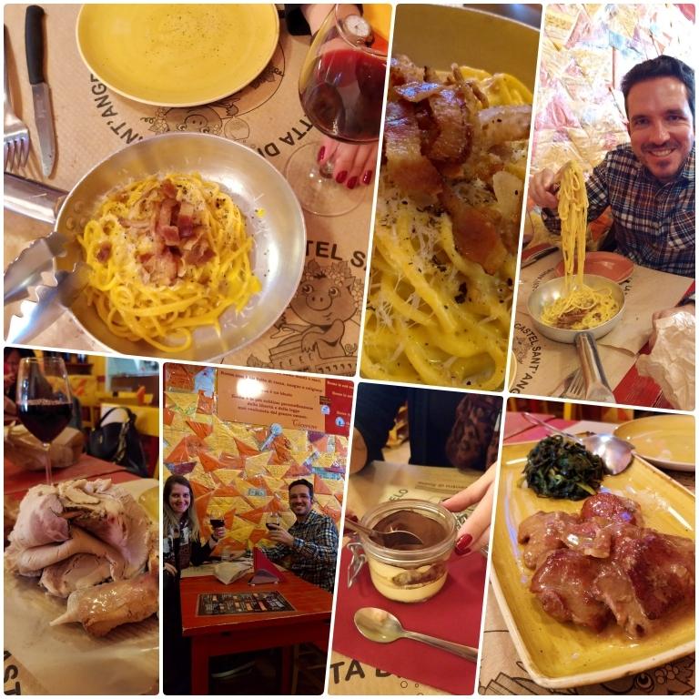 Onde comer em Roma: La Fraschetta di Castel Sant'Angelo