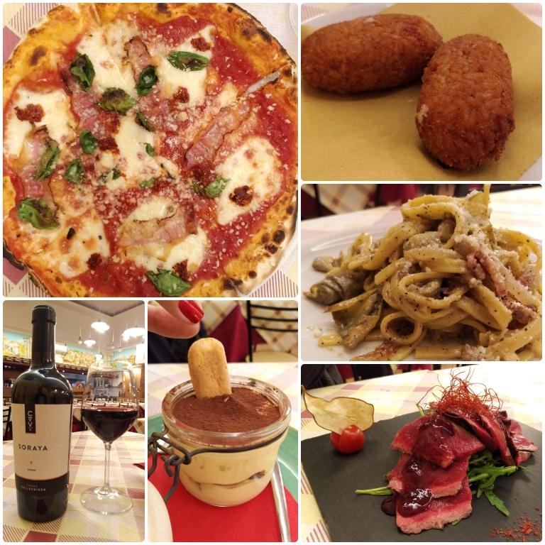 Onde comer em Roma: La Valle del Sacco