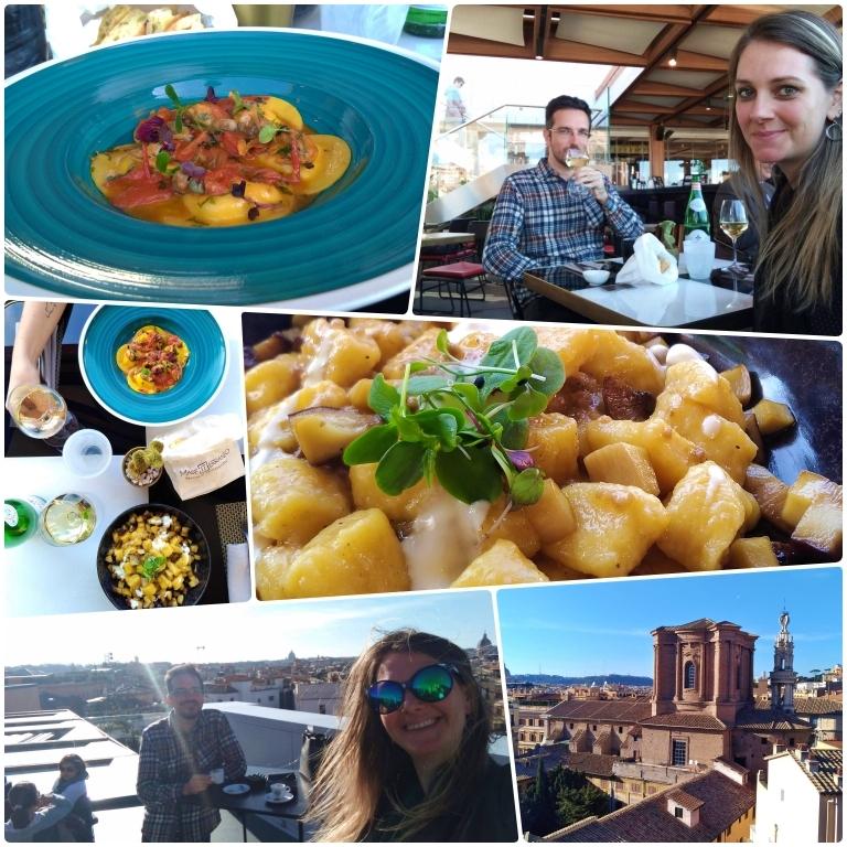 Onde comer em Roma: MadeIterraneo Terrace Restaurant