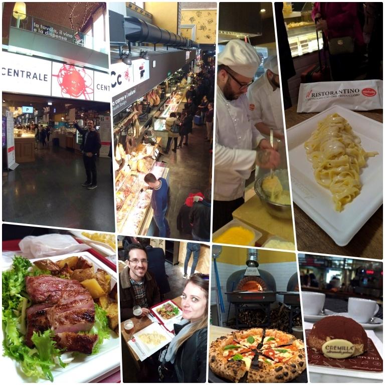 Onde comer em Roma: Mercato Centrale Roma