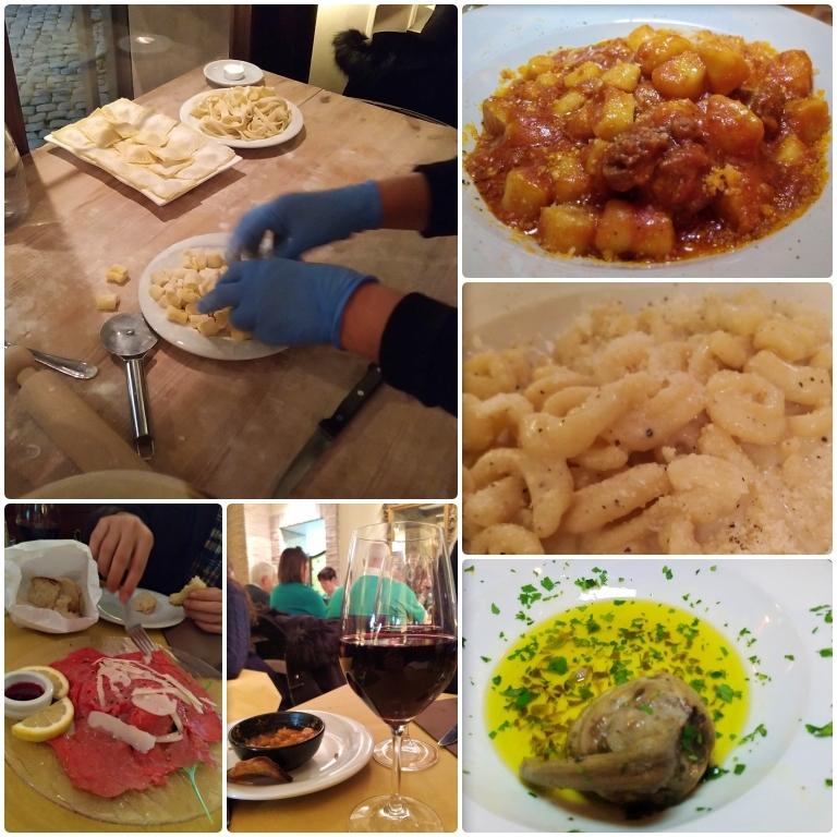onde comer em Roma Pasta e Vino Osteria