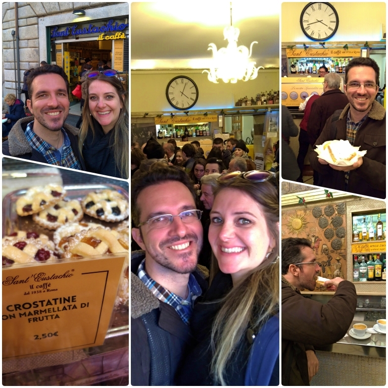 Onde comer em Roma: Sant' Eustachio Il Caffè