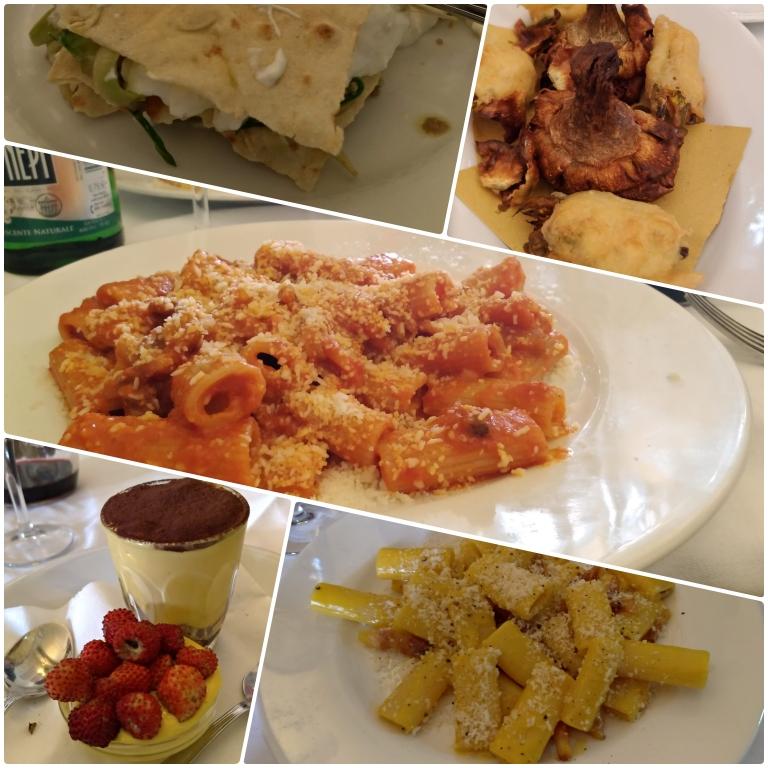 onde comer em roma Trattoria Da Teo