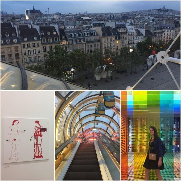 Visita ao Centro Georges Pompidou