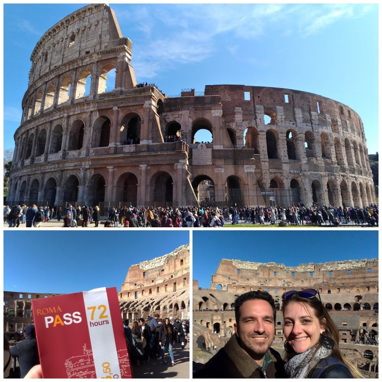 Visita ao Coliseu com o Roma Pass