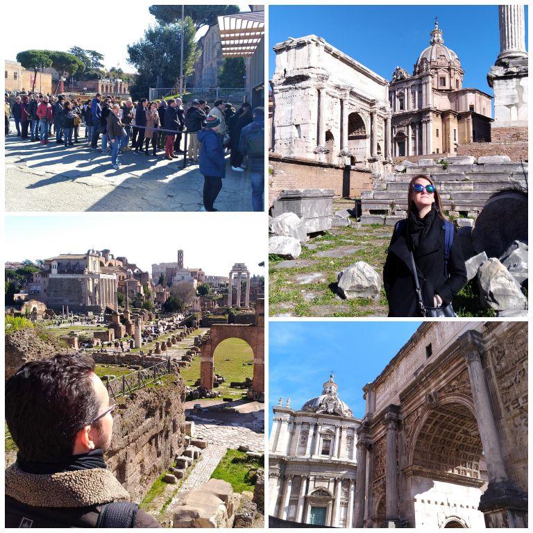 Visita ao Fórum Romano com o Roma Pass