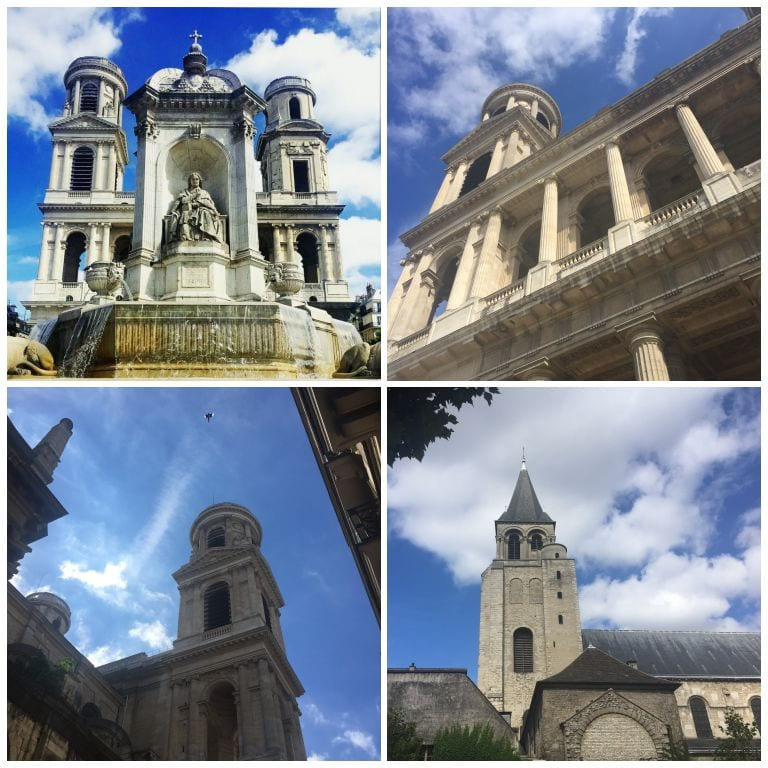 Igrejas de Saint Germain des Prés