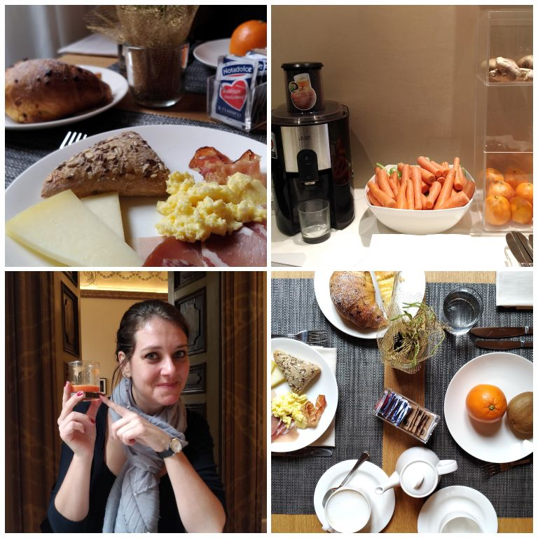 Café da manhã - Locanda della Posta