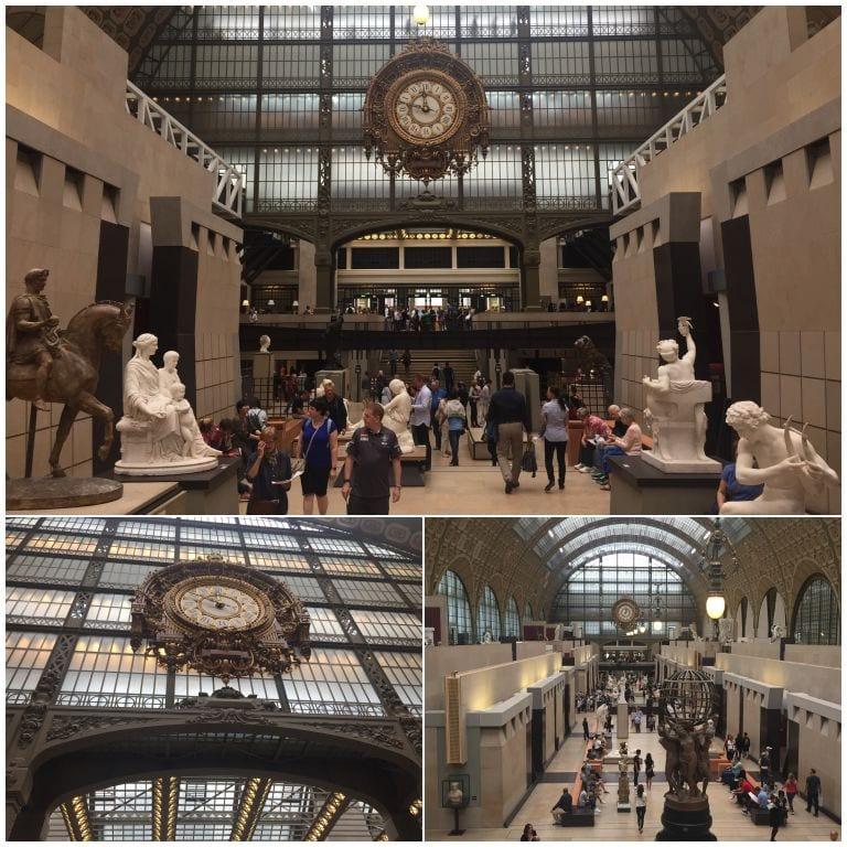 Primeiro pavilhão do Museu D'Orsay
