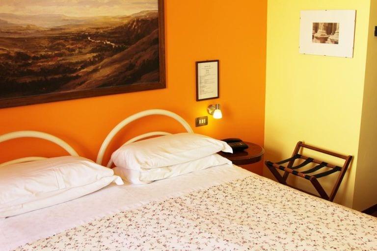 Nosso quarto no Hotel Pallotta Assisi