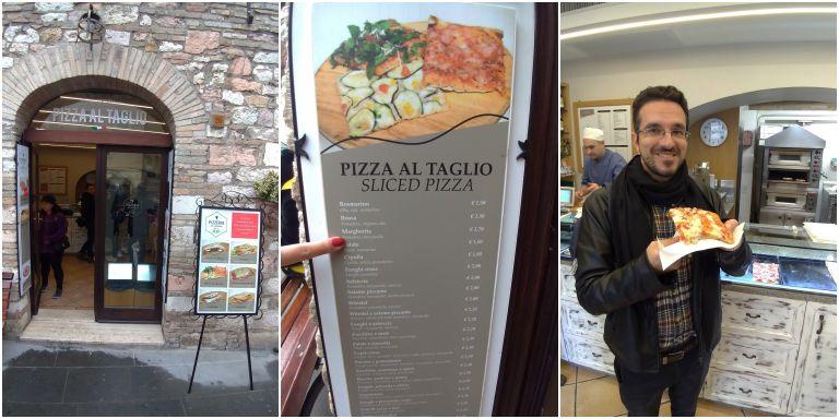 Da Andrea - Pizza al Taglio boa, feita na hora e para todos os bolsos