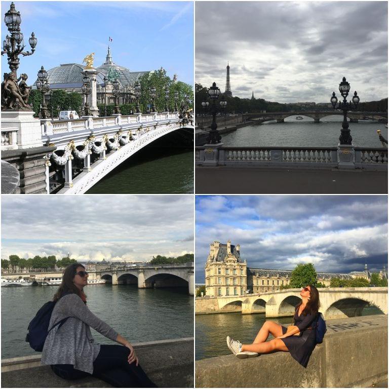 Ponte Alexandre III e outras pontes de Paris