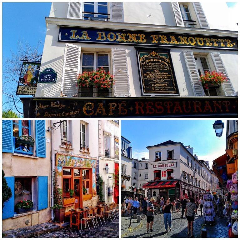 Alguns dos restaurantes clássicos e imperdíveis de Montmartre