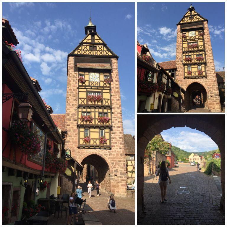 Posto du Dolder, o portão de entrada da cidade